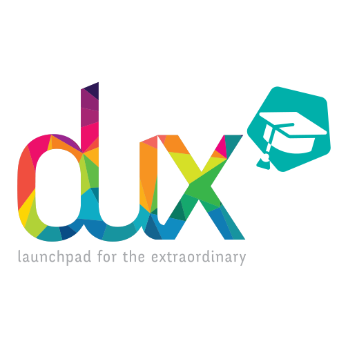 dux student development logo design